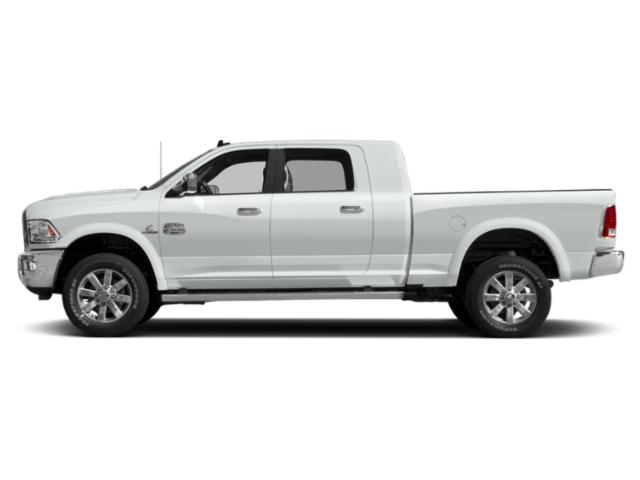 Bright White Clearcoat 2018 Ram Truck 2500 Pictures 2500 Mega Cab Limited 2WD T-Diesel photos side view