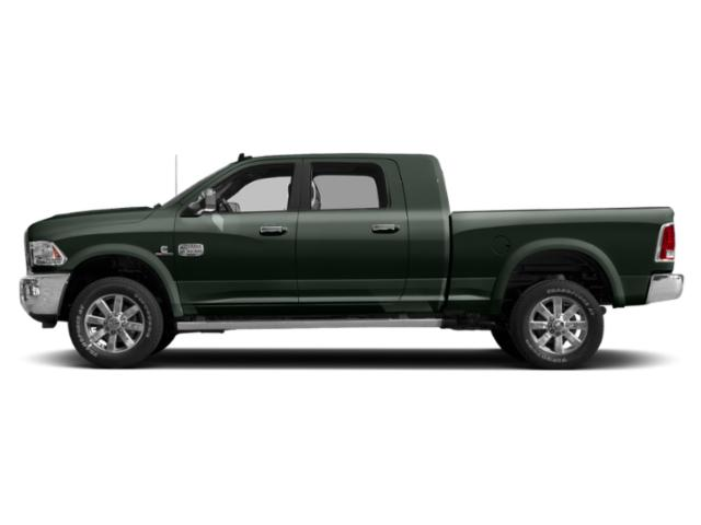 Black Forest Green Pearlcoat 2018 Ram Truck 2500 Pictures 2500 Longhorn 4x4 Mega Cab 6'4 Box photos side view