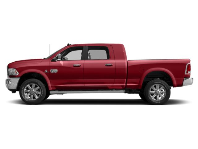 Flame Red Clearcoat 2018 Ram Truck 2500 Pictures 2500 Longhorn 4x4 Mega Cab 6'4 Box photos side view