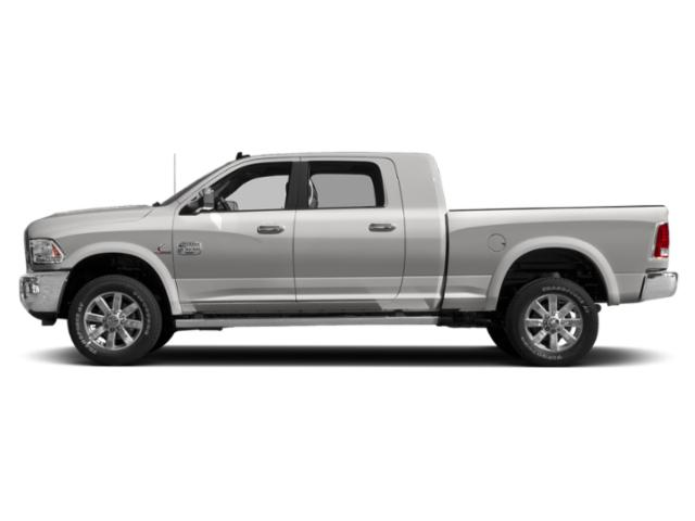 Bright Silver Metallic Clearcoat 2018 Ram Truck 2500 Pictures 2500 Mega Cab Limited 2WD T-Diesel photos side view