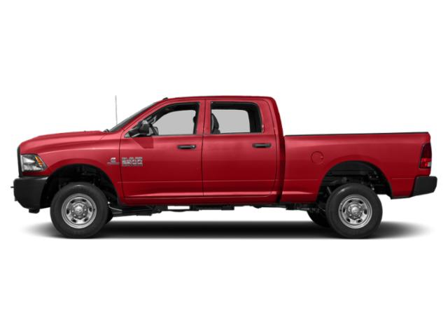 Bright Red 2018 Ram Truck 2500 Pictures 2500 Crew Cab Tradesman 2WD T-Diesel photos side view
