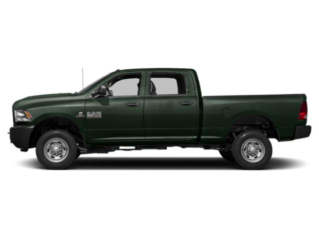 Black Forest Green Pearlcoat 2018 Ram Truck 2500 Pictures 2500 Crew Cab Tradesman 2WD T-Diesel photos side view