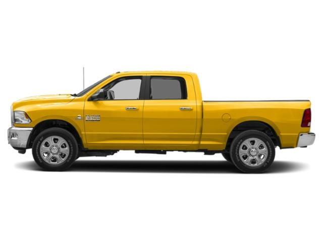 Yellow 2018 Ram Truck 2500 Pictures 2500 Crew Cab SLT 4WD T-Diesel photos side view