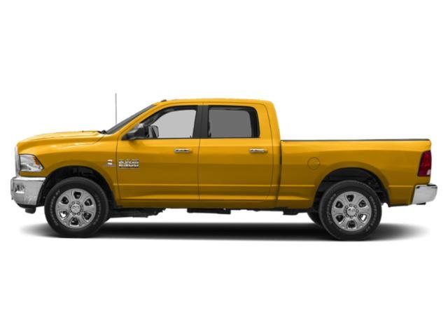Construction Yellow 2018 Ram Truck 2500 Pictures 2500 Crew Cab SLT 4WD T-Diesel photos side view