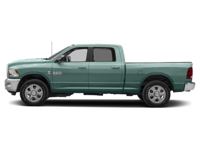 Light Green 2018 Ram Truck 2500 Pictures 2500 Crew Cab SLT 4WD T-Diesel photos side view