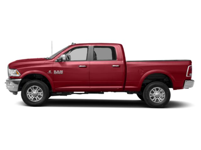 Flame Red Clearcoat 2018 Ram Truck 2500 Pictures 2500 Crew Cab Laramie 2WD T-Diesel photos side view