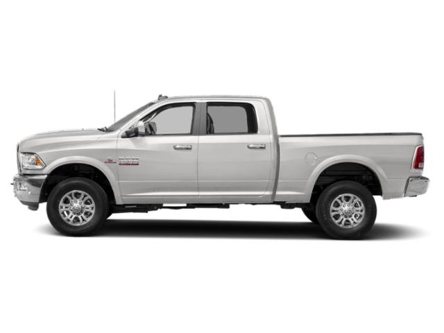 Bright Silver Metallic Clearcoat 2018 Ram Truck 2500 Pictures 2500 Crew Cab Laramie 2WD T-Diesel photos side view