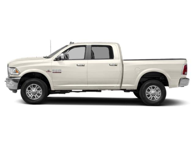 Pearl White 2018 Ram Truck 2500 Pictures 2500 Crew Cab Laramie 2WD T-Diesel photos side view