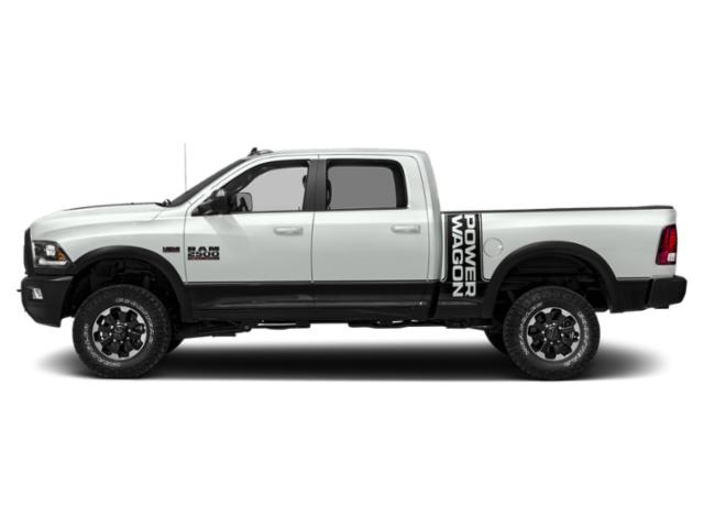 Bright White Clearcoat 2018 Ram Truck 2500 Pictures 2500 Power Wagon 4x4 Crew Cab 6'4 Box photos side view