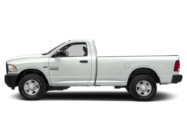 Bright White Clearcoat 2018 Ram Truck 2500 Pictures 2500 Regular Cab SLT 4WD T-Diesel photos side view