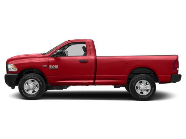 Bright Red 2018 Ram Truck 2500 Pictures 2500 SLT 4x2 Reg Cab 8' Box photos side view