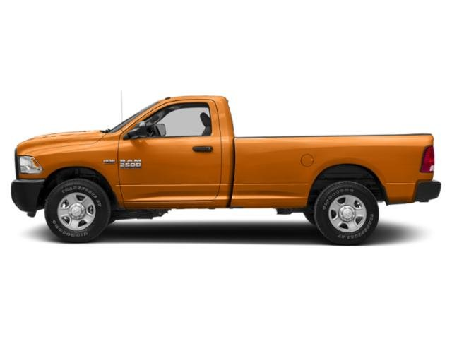 Omaha Orange 2018 Ram Truck 2500 Pictures 2500 SLT 4x2 Reg Cab 8' Box photos side view