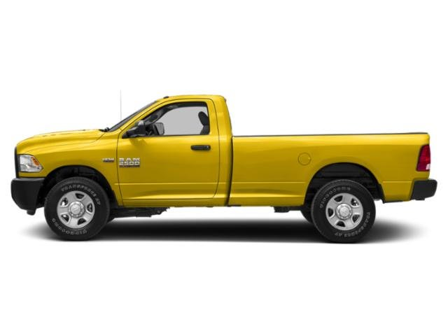 Yellow 2018 Ram Truck 2500 Pictures 2500 SLT 4x2 Reg Cab 8' Box photos side view