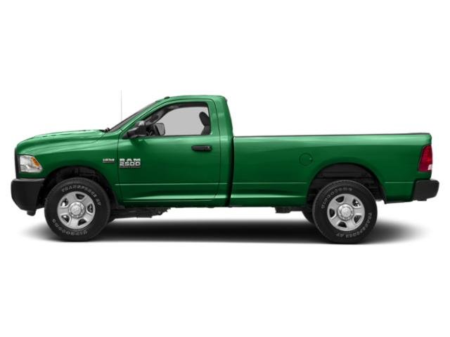 Bright Green 2018 Ram Truck 2500 Pictures 2500 SLT 4x2 Reg Cab 8' Box photos side view