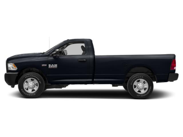 Midnight Blue Pearlcoat 2018 Ram Truck 2500 Pictures 2500 SLT 4x2 Reg Cab 8' Box photos side view