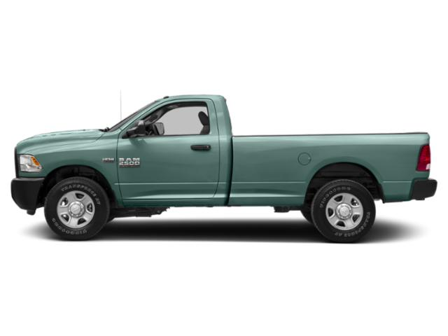 Light Green 2018 Ram Truck 2500 Pictures 2500 Regular Cab SLT 4WD T-Diesel photos side view