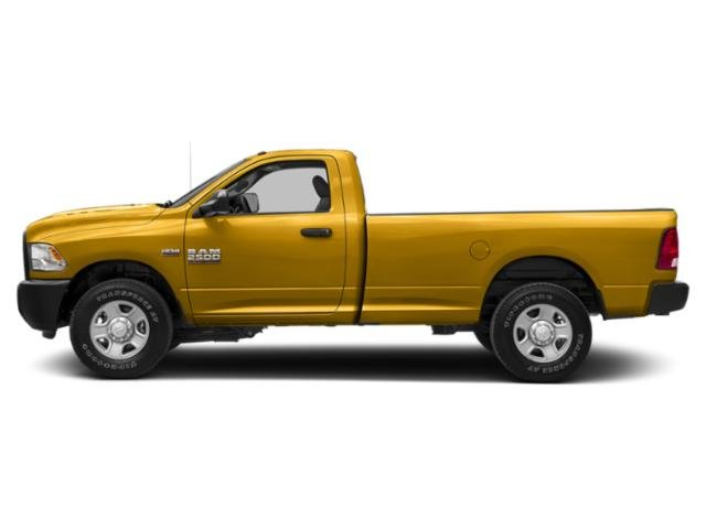 School Bus Yellow 2018 Ram Truck 2500 Pictures 2500 SLT 4x2 Reg Cab 8' Box photos side view