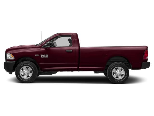 Delmonico Red Pearlcoat 2018 Ram Truck 2500 Pictures 2500 SLT 4x2 Reg Cab 8' Box photos side view