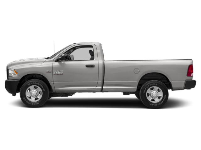 Bright Silver Metallic Clearcoat 2018 Ram Truck 2500 Pictures 2500 Regular Cab SLT 4WD T-Diesel photos side view