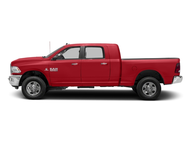 Bright Red 2018 Ram Truck 3500 Pictures 3500 Mega Cab Bighorn/Lone Star 2WD photos side view