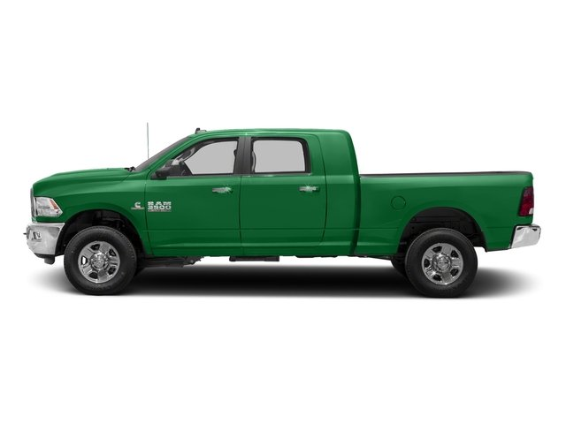 Bright Green 2018 Ram Truck 3500 Pictures 3500 Mega Cab Bighorn/Lone Star 2WD photos side view