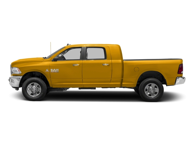 Construction Yellow 2018 Ram Truck 3500 Pictures 3500 Mega Cab Bighorn/Lone Star 2WD photos side view