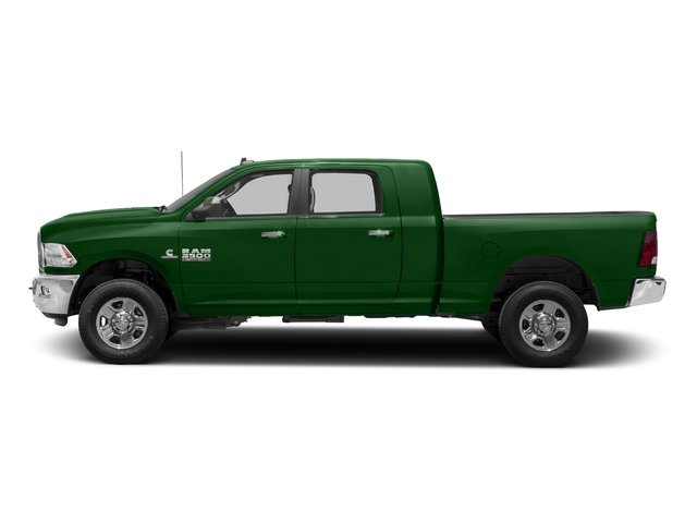 Tree Green 2018 Ram Truck 3500 Pictures 3500 Mega Cab Bighorn/Lone Star 2WD photos side view