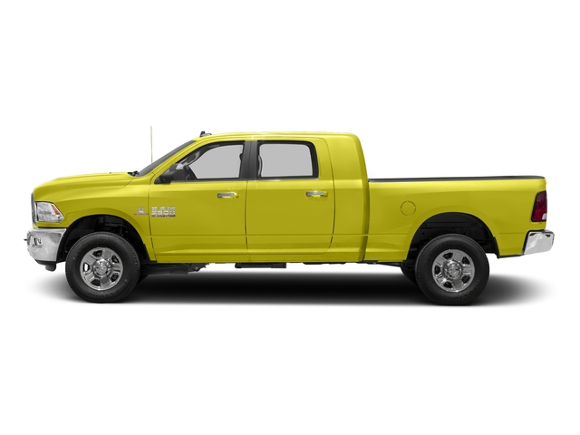National Safety Yellow 2018 Ram Truck 3500 Pictures 3500 Mega Cab Bighorn/Lone Star 2WD photos side view