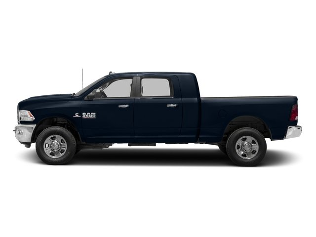 True Blue Pearlcoat 2018 Ram Truck 3500 Pictures 3500 Mega Cab Bighorn/Lone Star 2WD photos side view
