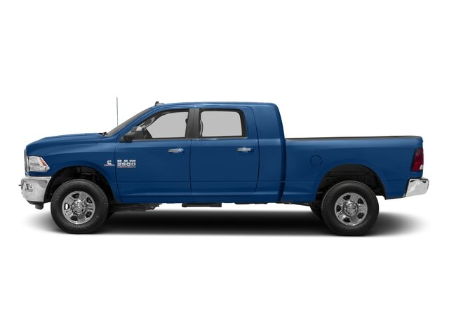 Blue Streak Pearlcoat 2018 Ram Truck 3500 Pictures 3500 Mega Cab Bighorn/Lone Star 2WD photos side view