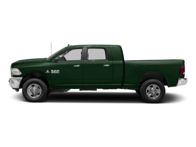 Timberline Green Pearlcoat 2018 Ram Truck 3500 Pictures 3500 Mega Cab Bighorn/Lone Star 2WD photos side view