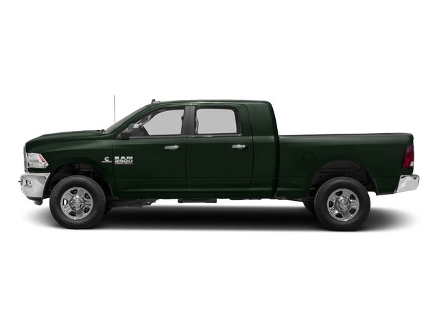 Black Forest Green Pearlcoat 2018 Ram Truck 3500 Pictures 3500 Mega Cab Bighorn/Lone Star 2WD photos side view