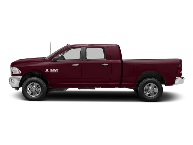 Delmonico Red Pearlcoat 2018 Ram Truck 3500 Pictures 3500 Mega Cab SLT 4WD photos side view