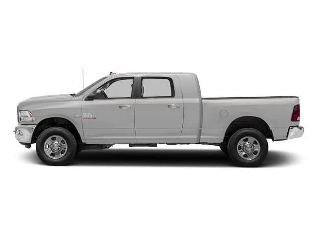 Bright Silver Metallic Clearcoat 2018 Ram Truck 3500 Pictures 3500 Mega Cab Bighorn/Lone Star 2WD photos side view