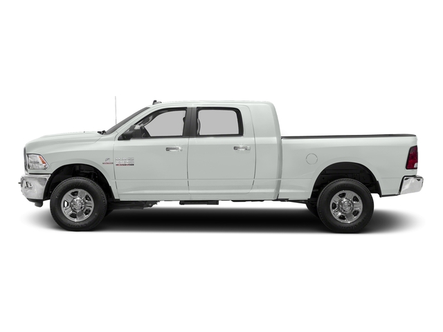 Bright White Clearcoat 2018 Ram Truck 3500 Pictures 3500 Mega Cab Bighorn/Lone Star 2WD photos side view