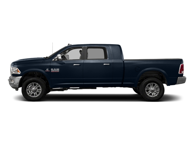 True Blue Pearlcoat 2018 Ram Truck 3500 Pictures 3500 Limited 4x4 Mega Cab 6'4 Box photos side view