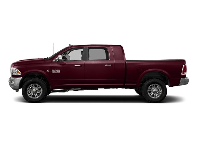 Delmonico Red Pearlcoat 2018 Ram Truck 3500 Pictures 3500 Limited 4x4 Mega Cab 6'4 Box photos side view