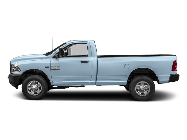 Robin Egg Blue 2018 Ram Truck 3500 Pictures 3500 Regular Cab SLT 2WD photos side view