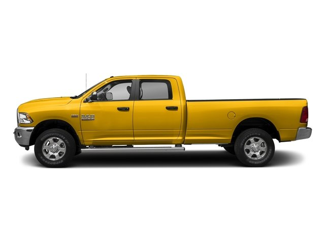 Yellow 2018 Ram Truck 3500 Pictures 3500 Big Horn 4x4 Crew Cab 8' Box photos side view