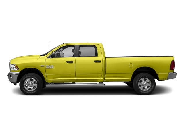 National Safety Yellow 2018 Ram Truck 3500 Pictures 3500 Big Horn 4x4 Crew Cab 8' Box photos side view