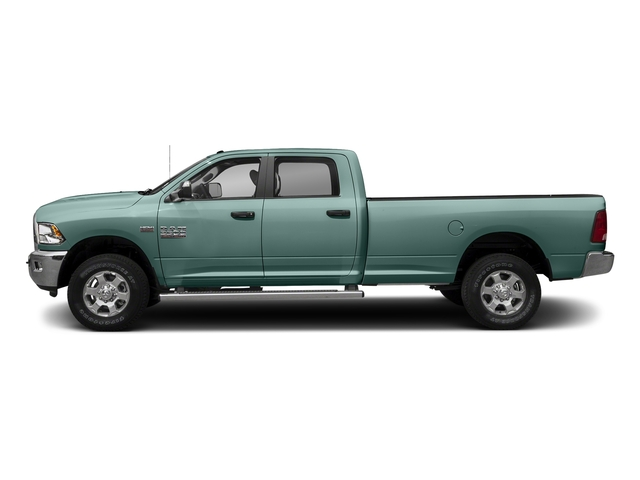 Light Green 2018 Ram Truck 3500 Pictures 3500 Big Horn 4x4 Crew Cab 8' Box photos side view