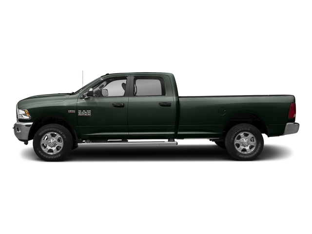 Black Forest Green Pearlcoat 2018 Ram Truck 3500 Pictures 3500 Big Horn 4x4 Crew Cab 8' Box photos side view