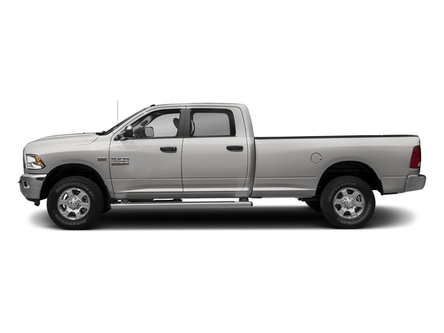 Bright Silver Metallic Clearcoat 2018 Ram Truck 3500 Pictures 3500 Big Horn 4x4 Crew Cab 8' Box photos side view