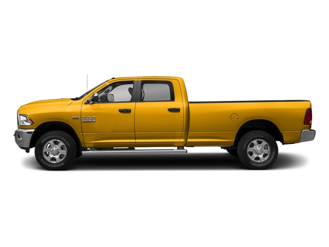 Detonator Yellow Clearcoat 2018 Ram Truck 3500 Pictures 3500 Big Horn 4x4 Crew Cab 8' Box photos side view