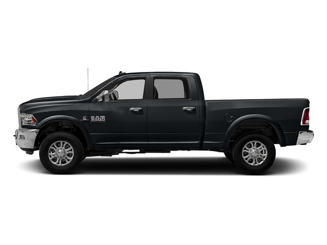 Maximum Steel Metallic Clearcoat 2018 Ram Truck 3500 Pictures 3500 Limited 4x2 Crew Cab 6'4 Box photos side view