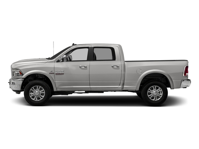 Bright Silver Metallic Clearcoat 2018 Ram Truck 3500 Pictures 3500 Laramie Longhorn 4x4 Crew Cab 6'4 Box photos side view