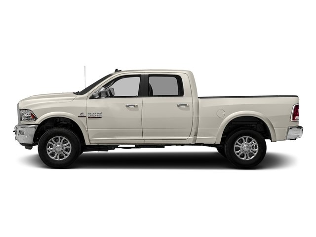 Pearl White 2018 Ram Truck 3500 Pictures 3500 Laramie Longhorn 4x4 Crew Cab 6'4 Box photos side view