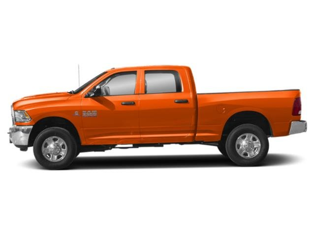 Omaha Orange 2018 Ram Truck 3500 Pictures 3500 Tradesman 4x4 Crew Cab 8' Box photos side view