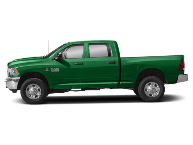 Bright Green 2018 Ram Truck 3500 Pictures 3500 SLT 4x2 Crew Cab 6'4 Box photos side view