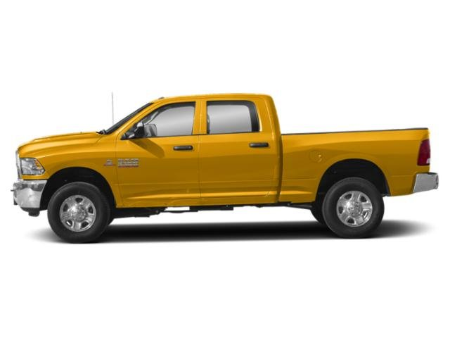 Construction Yellow 2018 Ram Truck 3500 Pictures 3500 Tradesman 4x4 Crew Cab 8' Box photos side view
